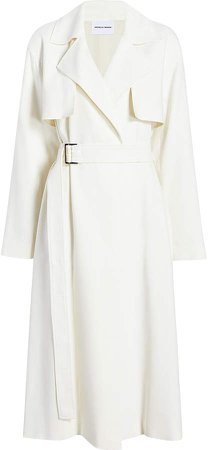 Michelle Waugh The Carina Oversized Belted Trench Size: XS