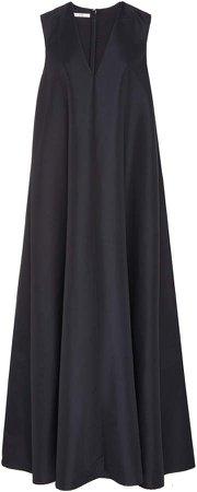 Sleeveless Maxi Swing Dress