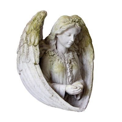 OrlandiStatuary Angels Birdfeeder Statue in 2018 | Products | Pinterest | Angel, Polyvore and Statue