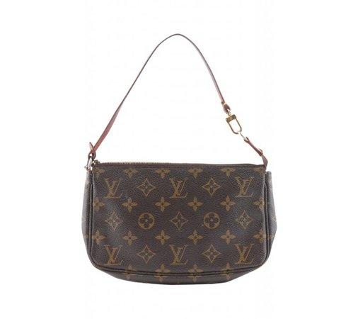 Louis Vuitton Monogram Pochette Clutch Bag