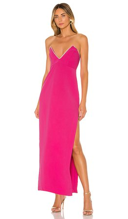 NBD Tarry Gown in Fuchsia | REVOLVE