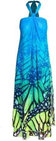 Cosel Dress Lemon Blue