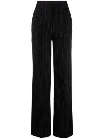 Alexander Wang pinstripe-print Tailored Trousers - Farfetch