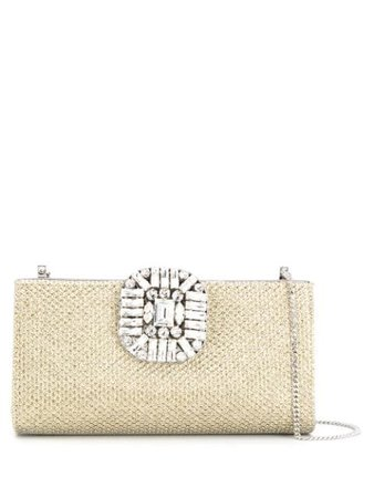 Jimmy Choo 'Leonis' Clutch - Farfetch