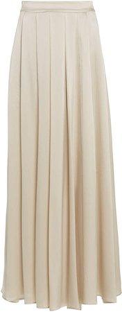 Sablyn Luca Silk Maxi Skirt