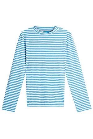 Emelie Striped Cotton Top Gr. L