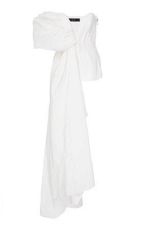 white asymmetric top