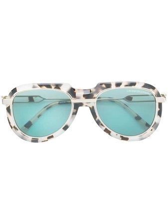Calvin Klein 205W39nyc Tortoiseshell Sunglasses - Farfetch