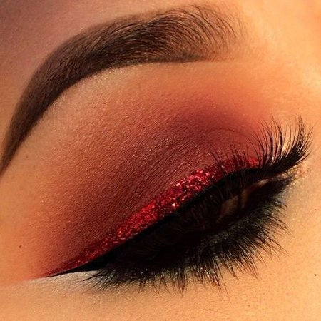 valentines day eye makeup - Google Search