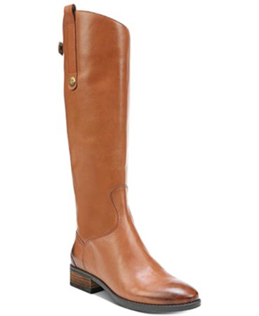 Sam Edelman Penny Leather Riding Boots & Reviews - Boots - Shoes - Macy's