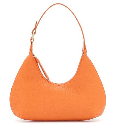 Exclusive To Mytheresa – Baby Amber Leather Shoulder Bag   By Far - Mytheresa