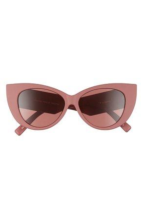 Le Specs Feline Fine 54mm Cat Eye Sunglasses | Nordstrom