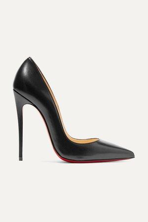 Black So Kate 120 leather pumps   Christian Louboutin   NET-A-PORTER
