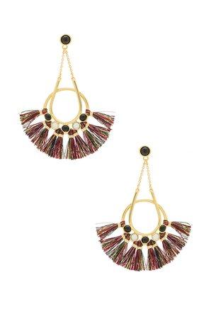 Utopia Tassel Chandelier Earrings