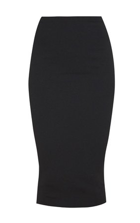 Black Crepe Midi Skirt - Skirts & Shorts - New In | PrettyLittleThing