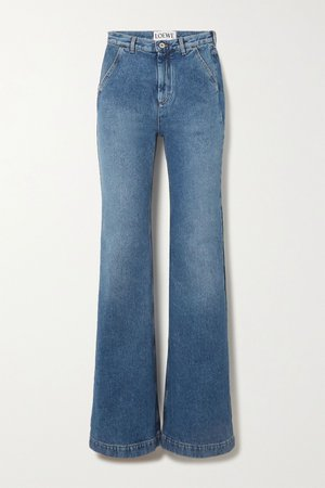 Blue High-rise straight-leg jeans | Loewe | NET-A-PORTER