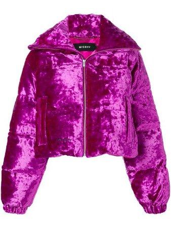 Misbhv velour puffer jacket - Buscar con Google