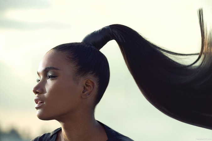 high ponytail - Google Search