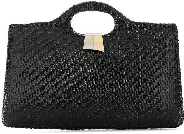 Katheleys Vintage 1970's structured tote bag