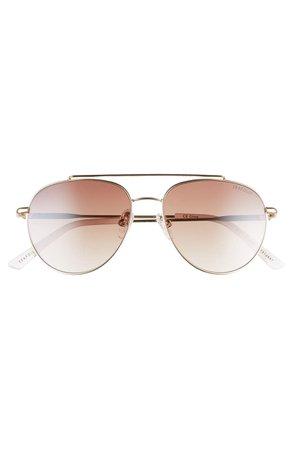 Seafolly Little Bay 52mm Gradient Aviator Sunglasses | Nordstrom