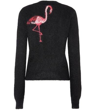 Flamingo mohair-blend sweater