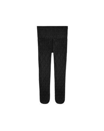 Gucci Synthetic Interlocking G Tights in Black - Lyst