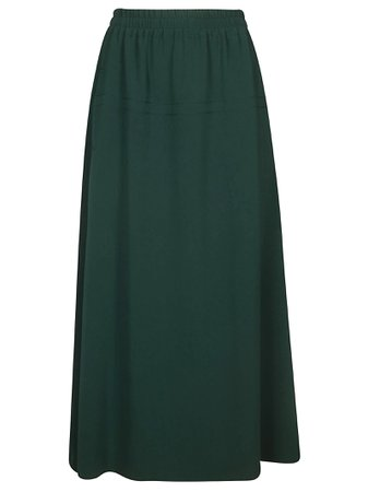 Alberto Biani Elasticated Waist Long Skirt