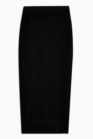 Knitted Chenille Mini Skirt | Topshop