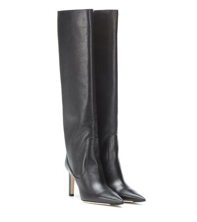 Mavis 85 Leather Boots | Jimmy Choo - mytheresa