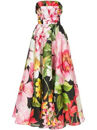 Bambah Lotus Cinderella Gown SS18BMSS1844 Black | Farfetch