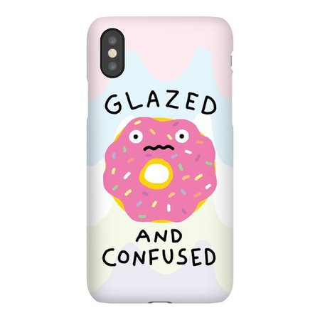 Glazed And Confused Phone Case | LookHUMAN