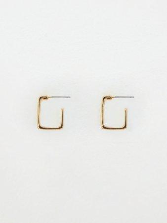 Геометрические серьги 027548011-6 - купить в интернет-магазине «ZARINA»