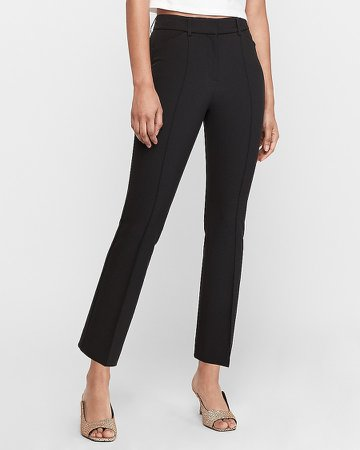 High Waisted Flare Ankle Pant