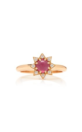 M.Spalten 14K Rose Gold And Multi-Stone Ring