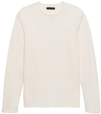 Heritage Long-Sleeve Textured T-Shirt