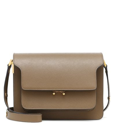 Trunk Leather Shoulder Bag | Marni - Mytheresa