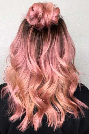 rose gold hairstyles - Google Search