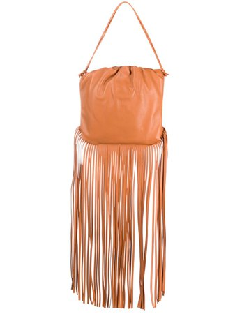 Bottega Veneta fringe-trim Shoulder Bag - Farfetch