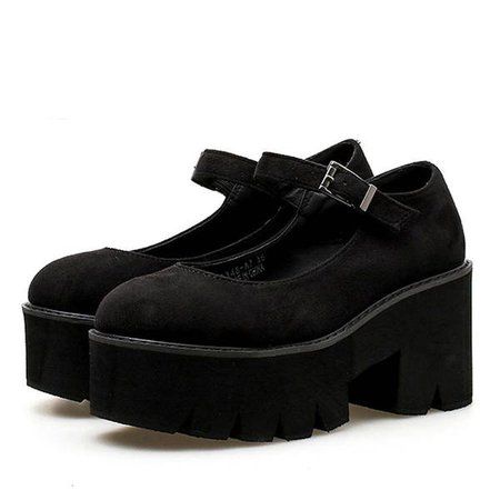Private School Platform Sandals