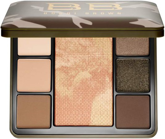 Luxe Camo Face and Eye Shadow Palette