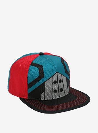 My Hero Academia Deku Suit Snapback Hat