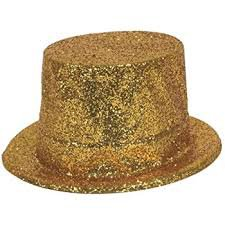 gold sequin top hat - Google Search