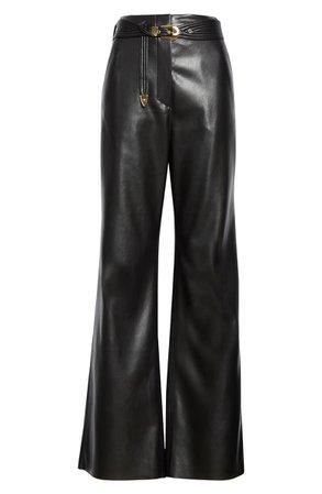 Nanushka Kisa Faux Leather Pants   Nordstrom