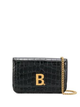 Balenciaga B Crossbody Bag - Farfetch