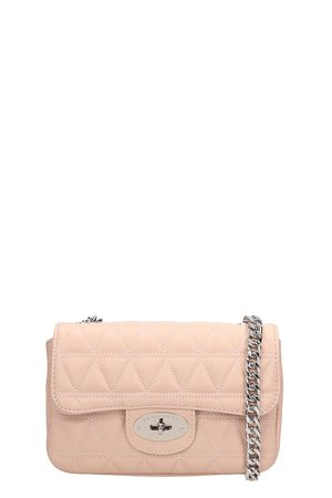 Marc Ellis Pink Quilted Leather Pilar S Bag