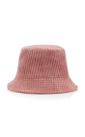 Haley Logo-Embroidered Corduroy Bucket Hat By Isabel Marant   Moda Operandi