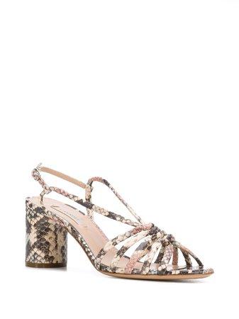 Casadei Safari Strappy Sandals - Farfetch