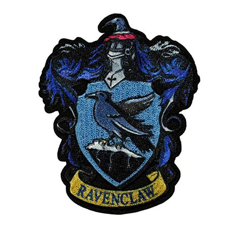 Amazon.com: Harry Potter Ravenclaw Patch Hogwarts Crest House Embroidered Iron On Applique: Arts, Crafts & Sewing