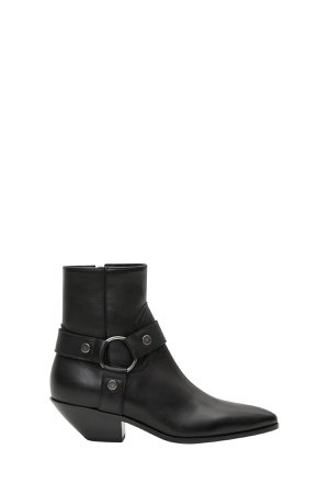 Saint Laurent West 45 Ankle Boots