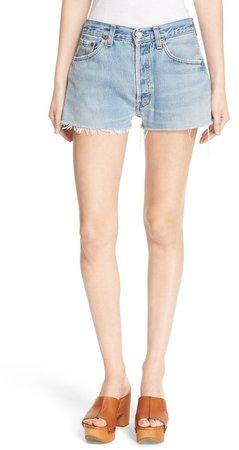 The Short Repurposed Denim Shorts